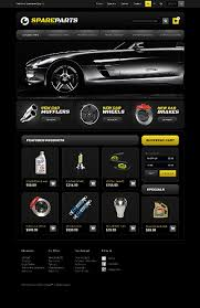 auto parts website template website template 40974 spare parts shop custom website template
