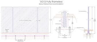 fully frameless fl installation