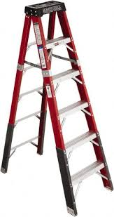 fiberglass 7 ft step ladder