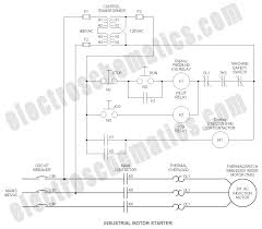 run stop relay circuit industrial motor starter industrial run stop relay circuit schematic