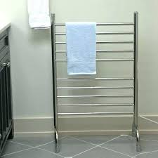 Free Standing Towel Rack Brushed Nickel Free Standing Towel Racks