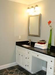 granite backsplashes in a master bathroom