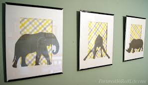 diy nursery wall art pinterest