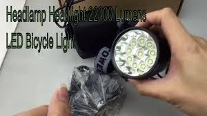 Headlamp Bicycle Light Headlamp Headlight 22000 Lumens Led Bicycle Light Best Headlamp Headlights