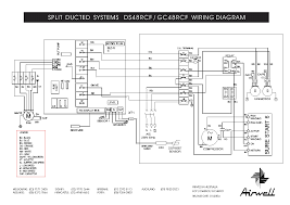 airwell ds 48rcf gc 48rcf wiring diagram service manual airwell ds 48rcf gc 48rcf wiring diagram service manual 1st page