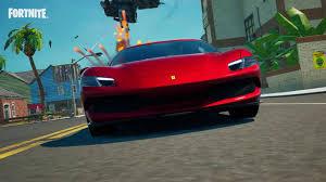 Dove trovare una Ferrari 296 GTB a Fortnite e completare tutte le missioni  Ferrari
