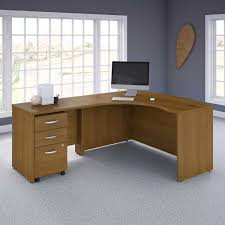 bathroomalluring costco home office furniture. Bush Series Left Hand C Manager\u0027s Desk In Cafe Oak Finish Bathroomalluring Costco Home Office Furniture E
