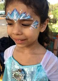elsa crown face paint jpg