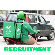 JOB RECRUITMENT (3 POSITIONS) @ KWIK DELIVERY (SEPTEMBER, 2021)