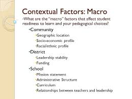 contextual factors the rhetorical situation genre ◦ what are the  2 contextual