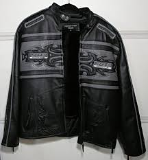 motocross sd racing club genuine leather jacket w zipper lining size xl