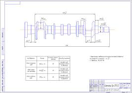 Готовые курсовые проекты по ремонту автомобилей Скачать курсовую  Технологический процесс восстановления коленчатого вала ЗМЗ 5