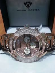 17 best images about time is money jewelry watches aqua master diamond w96 wrist watch for men