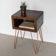 cool dark wood side table ella bedside small oak sideboard cabinet ikea uk next