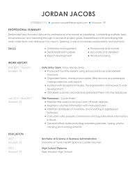resume format for computer operator data entry clerk resume examples free to try today
