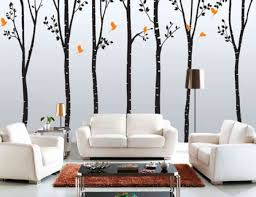 For Living Room Wallpaper Wall Decorating Ideas For Living Rooms With Masculine Black Floral
