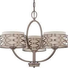 harlow hazel bronze chandelier linen drum shades 25 wx20 h