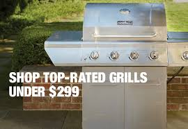 top rated grills under 299