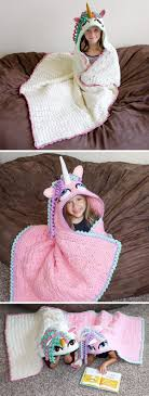 Hooded Blanket Crochet Pattern Simple Design Ideas