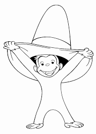 curiousge coloring pages free to print mini book printable amazing curious george books