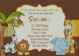 Free Printable Safari Birthday Invitations Best Jungle Theme Birthday Invitations Free Printable Party Ideas