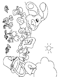 Small Picture Blues Clues coloring pages Download and print Blues Clues