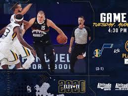 Dónde puedo ver en vivo Denver Nuggets vs Utah Jazz por los Playoffs de la  NBA | Denver Nuggets vs Utah Jazz EN VIVO