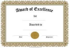 award certificates template free funny award certificates templates editable award of within