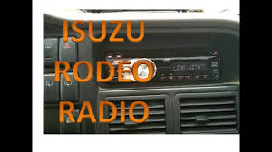 isuzu trooper car audio wiring wiring diagram mega