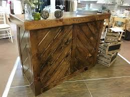 rustic wooden bar portable wood ballet barre diy