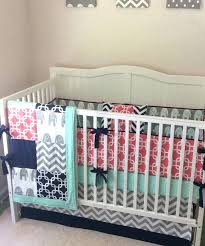 c and navy crib bedding c navy mint and gray crib bedding with elephants c mint