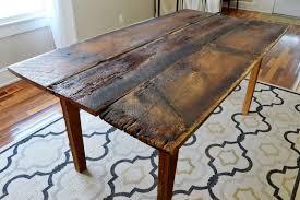 12 convert an old farmhouse dining table into a new photos