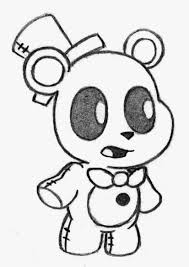 Interesting Fnaf Mangle Coloring Pages Five Nights At Freddys 14631