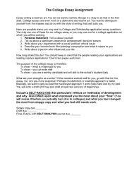 University Entrance Essay Examples Application Art College Resume