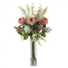 Tall vase floral arrangements