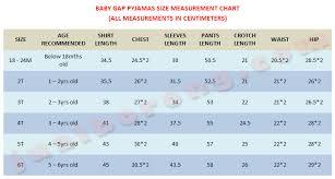 7 Gap Kids Size Chart Best Baby Toddler And Children S