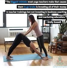 yoga instructor salary