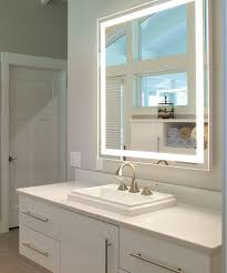 lighted mirror. integrity lighted mirror