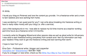 how i turned a guest post into a paid lance writing job real ways guest post pitch