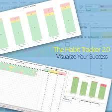 Habit Tracker 2 0 A Colorful Habit Tracking Template