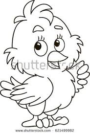coloring page outline of cartoon little vector ilration coloring book for kids