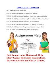 Hlt 205 Transitional Healthcare Assignment By Tutor King Issuu