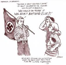 Image result for NAZI LOGO CARTOON
