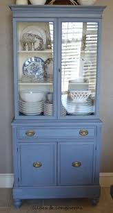 Kitchen Furniture Hutch 19 Great Hutch Makeovers Favorite Things Friday Lilacs And