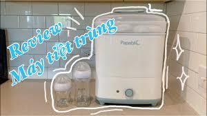 Review máy tiệt trùng bình sữa Papablic