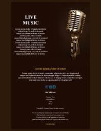 Music Newsletter Templates Music Newsletter Templates Mailpro