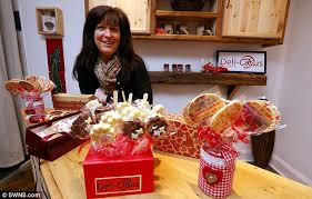 Chocs away: Lisa Davies is moving her chocolate firm into its own shop this week. John Allan, chairman of the Federation of Small Businesses, said: 'One in ... - article-0-208C268200000578-170_634x404