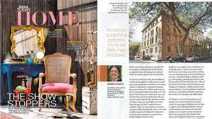 Interview with Brinda Somaya; India Today HOME Magazine - May 2017.
