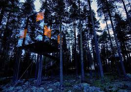 invisible tree house hotel. Mirror Tree House (Sweden) Invisible Hotel S