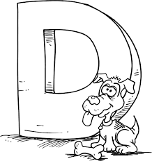 letter d coloring pages 01 | coloring 9 | Pinterest | Letter d ...